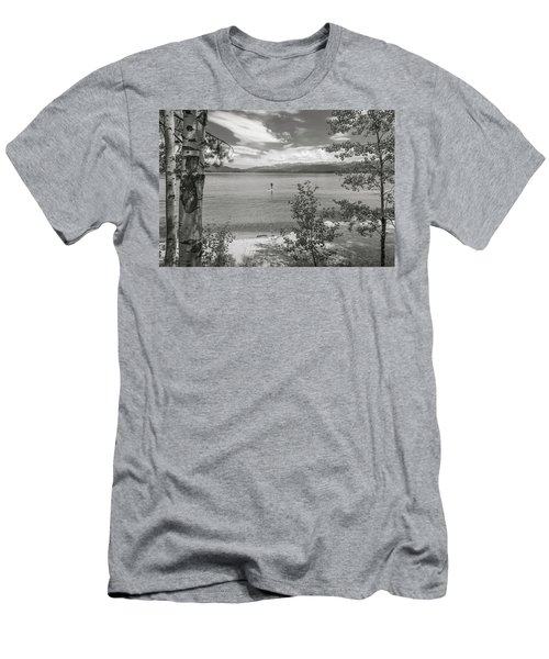 Payette Lake Boarder Men's T-Shirt (Athletic Fit)