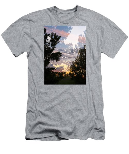 Paynotn Sunset Men's T-Shirt (Slim Fit) by Ellery Russell