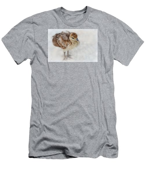 Pea Chick Cuteness Men's T-Shirt (Athletic Fit)
