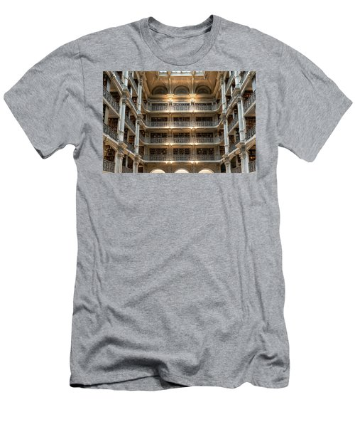 Peabody Library Men's T-Shirt (Athletic Fit)