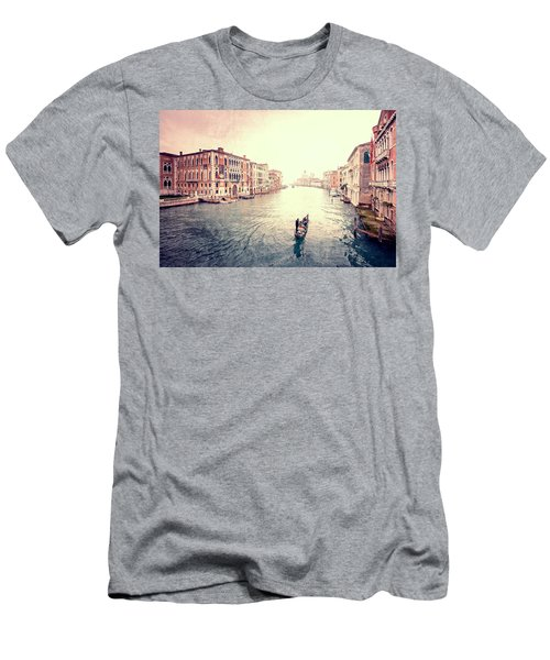 Peace In Venice Men's T-Shirt (Athletic Fit)