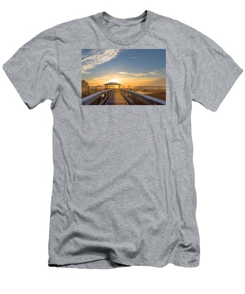 Men's T-Shirt (Slim Fit) featuring the photograph Peace by Margaret Palmer