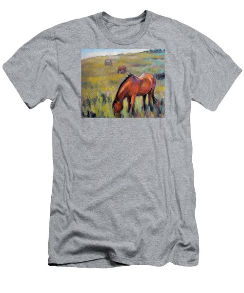 Peace On The Mountain Men's T-Shirt (Athletic Fit)