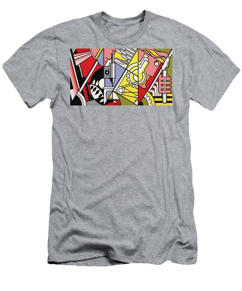 Peace Through Chemistry I - Roy Lichtenstein Men's T-Shirt (Athletic Fit)