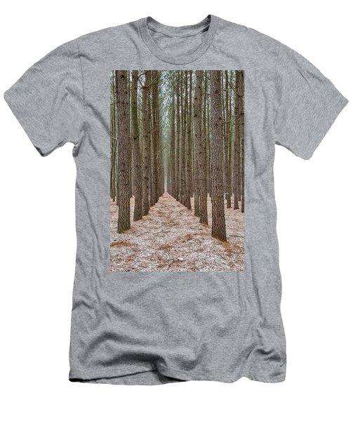 Peaceful Pines Men's T-Shirt (Athletic Fit)