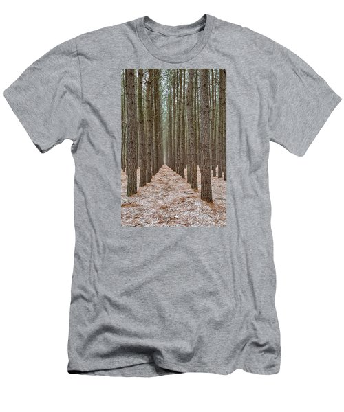 Peaceful Pines Men's T-Shirt (Athletic Fit)