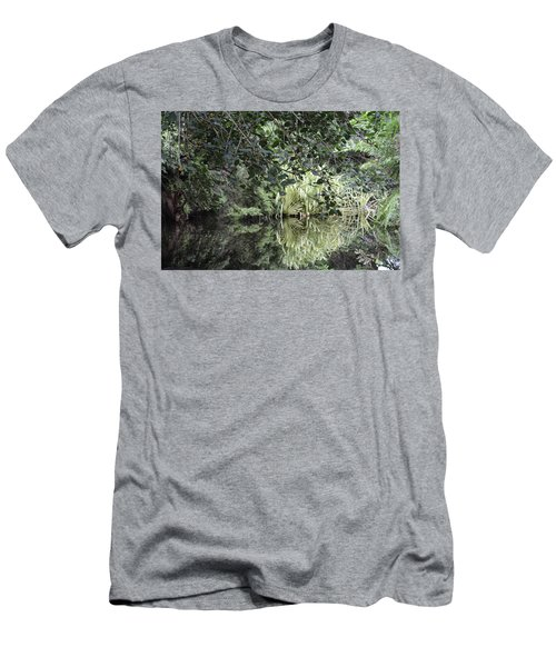 Peaceful Reflections Men's T-Shirt (Athletic Fit)
