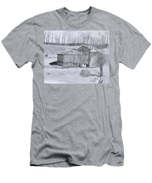 Peaceful Setting  Men's T-Shirt (Slim Fit) by Tony Clark