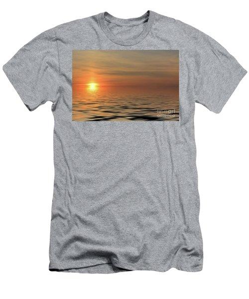 Peaceful Sunrise Men's T-Shirt (Athletic Fit)