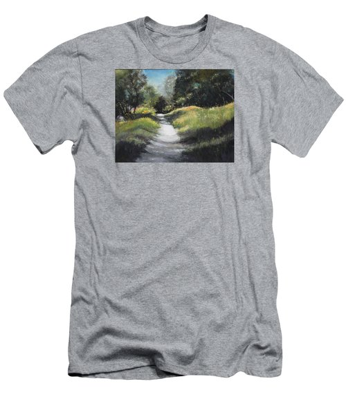 Peaceful Walk In The Foothills Men's T-Shirt (Athletic Fit)