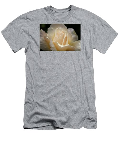 Peach Rose Men's T-Shirt (Slim Fit)