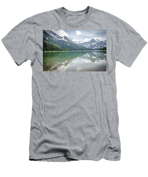Peaks At Lake Josephine Men's T-Shirt (Athletic Fit)