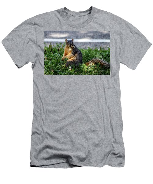 Men's T-Shirt (Slim Fit) featuring the photograph Peanut by Joann Copeland-Paul