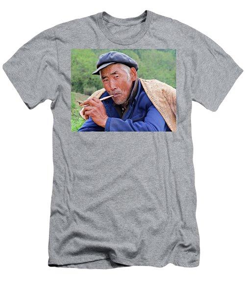 Peasant Farmer Men's T-Shirt (Athletic Fit)