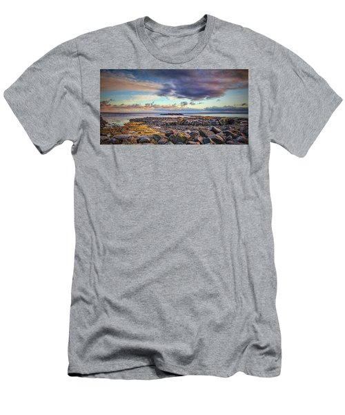 Pebbles And Sky  #h4 Men's T-Shirt (Athletic Fit)