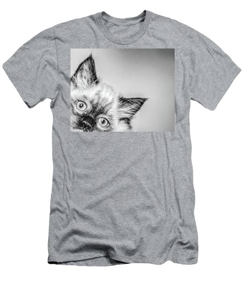 Peek A Boo Men's T-Shirt (Athletic Fit)