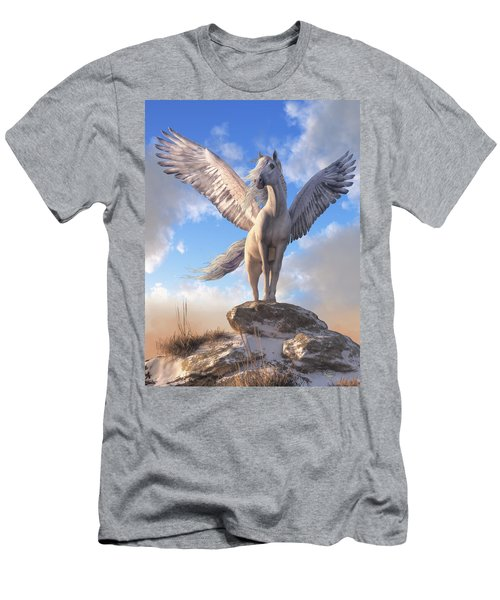 Pegasus The Winged Horse Men's T-Shirt (Athletic Fit)