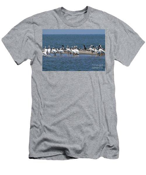 Pelicans Island Men's T-Shirt (Athletic Fit)