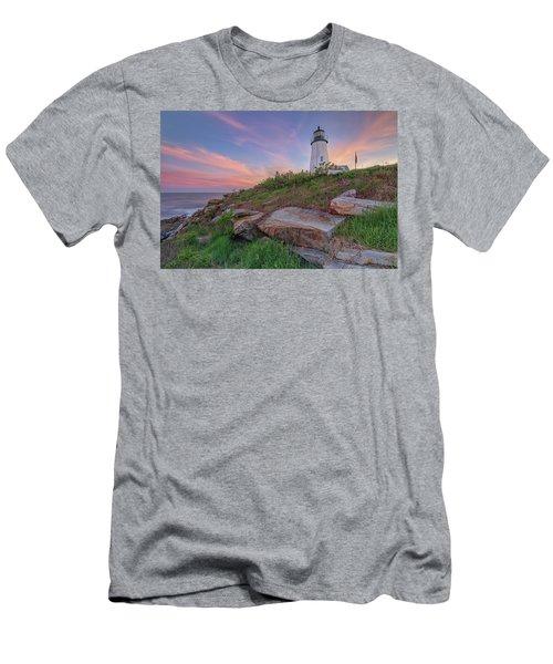 Pemaquid Point Sunset Men's T-Shirt (Athletic Fit)