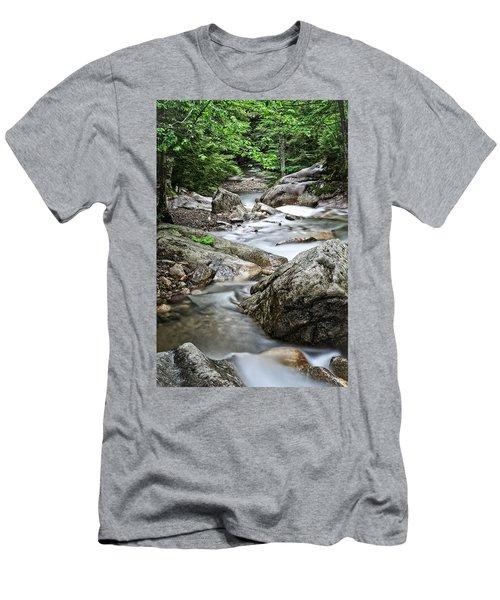 Pemigewasset River Nh Men's T-Shirt (Athletic Fit)