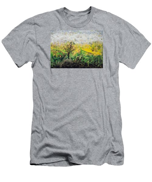 Peneplain Men's T-Shirt (Slim Fit) by Ron Richard Baviello