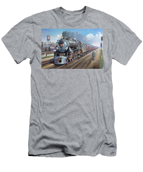 Penn Central Pacific. Men's T-Shirt (Slim Fit) by Mike Jeffries