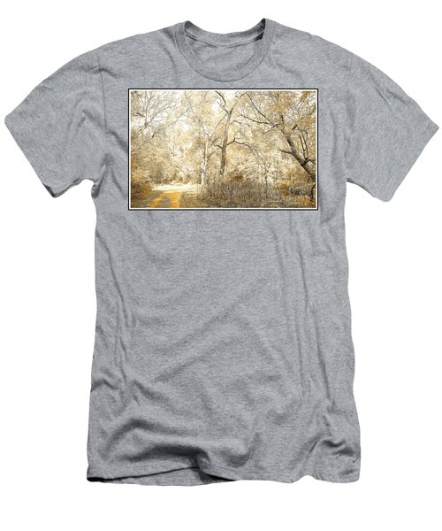 Pennsylvania Autumn Woods Men's T-Shirt (Slim Fit) by A Gurmankin