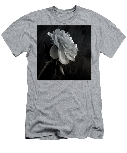 Men's T-Shirt (Slim Fit) featuring the photograph Peonie by Sharon Jones