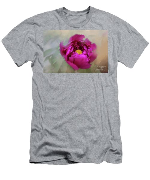 Peony Men's T-Shirt (Slim Fit) by Eva Lechner