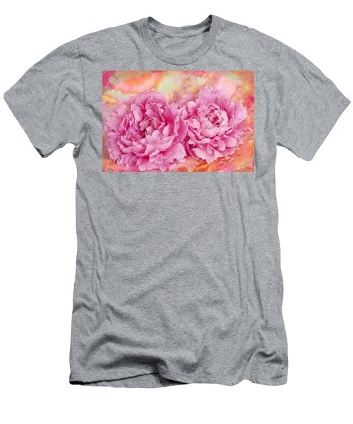 Peony Fiesta Men's T-Shirt (Athletic Fit)