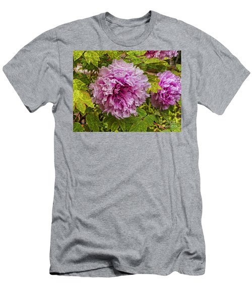 Peony Lace Men's T-Shirt (Athletic Fit)
