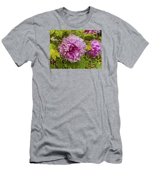 Peony Lace Men's T-Shirt (Athletic Fit)