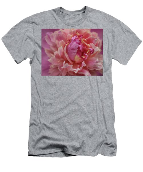 Peony Opening Men's T-Shirt (Athletic Fit)