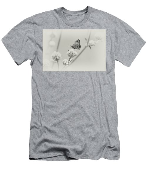 Perched Butterfly No. 255-2 Men's T-Shirt (Athletic Fit)