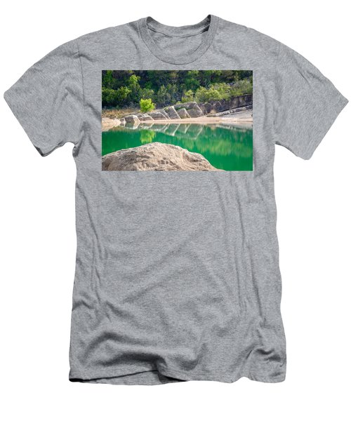 Perdernales Falls Men's T-Shirt (Athletic Fit)