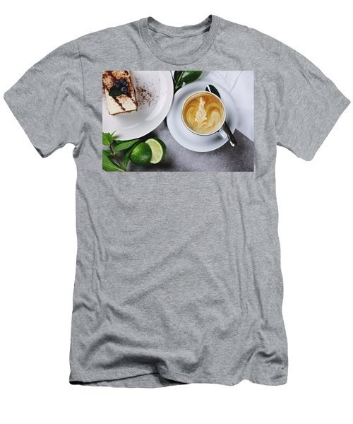 Perfect Breakfast Men's T-Shirt (Slim Fit) by Happy Home Artistry