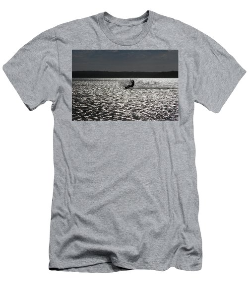 Men's T-Shirt (Athletic Fit) featuring the photograph Perfect Light At Lake Wollumboola by Miroslava Jurcik