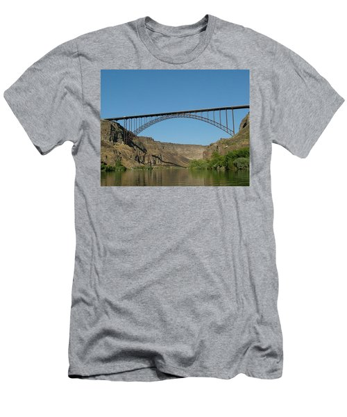 Perrine Bridge Men's T-Shirt (Athletic Fit)