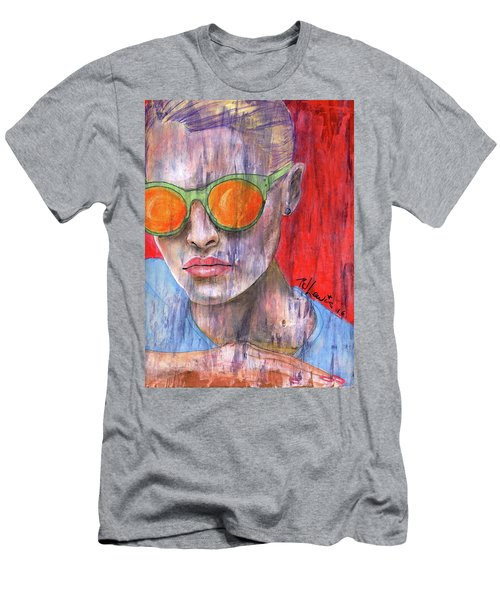 Peta Men's T-Shirt (Slim Fit) by P J Lewis
