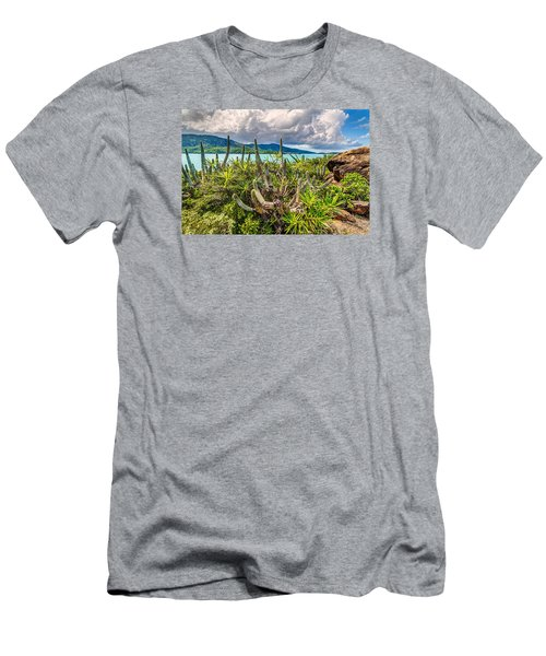 Peterborg Cactus Men's T-Shirt (Athletic Fit)