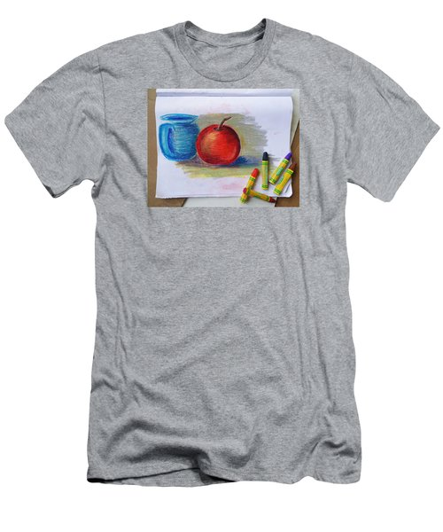 Petit Exercice En Pastel L'huile Men's T-Shirt (Slim Fit) by Ginny Schmidt