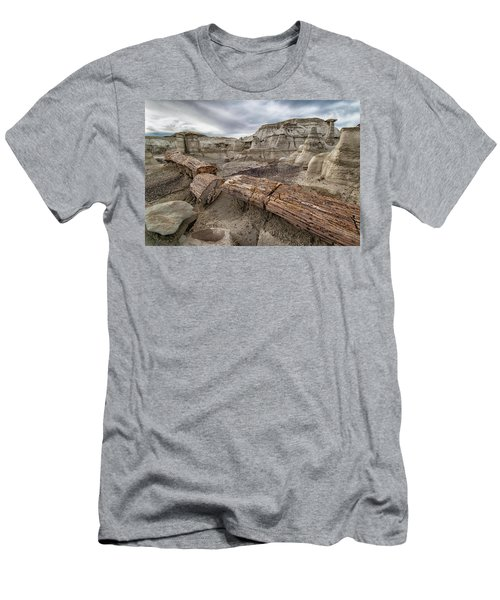 Men's T-Shirt (Slim Fit) featuring the photograph Petrified Remains by Alan Toepfer