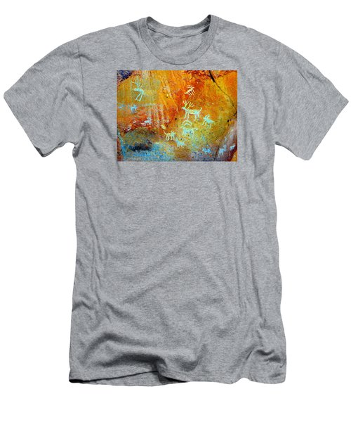 Petroglyph Panel Work 12 Men's T-Shirt (Athletic Fit)