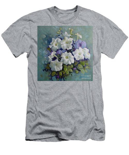 Petunias Symphony Men's T-Shirt (Athletic Fit)