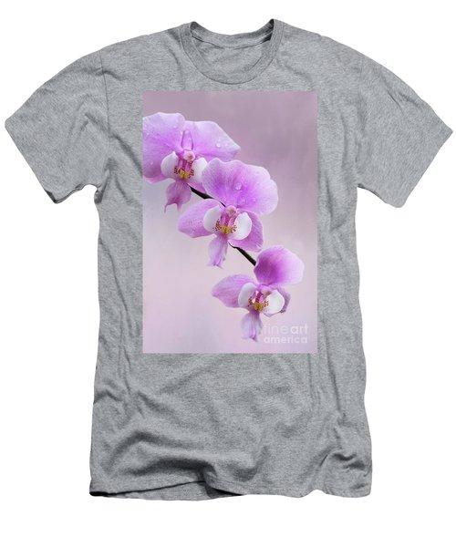 Phalaenopsis Schilleriana Fragrant Butterfly Orchid V2 Men's T-Shirt (Athletic Fit)
