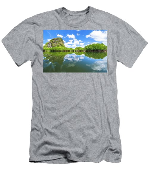 Phang Nga Bay Men's T-Shirt (Athletic Fit)