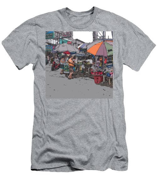 Philippines 708 Market Men's T-Shirt (Athletic Fit)