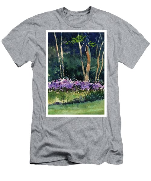 Phlox Meadow, Harrington State Park Men's T-Shirt (Athletic Fit)