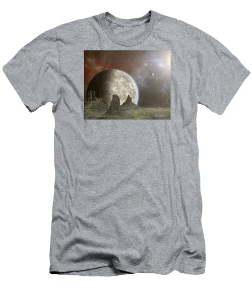 Phobos Men's T-Shirt (Slim Fit) by Mark Allen