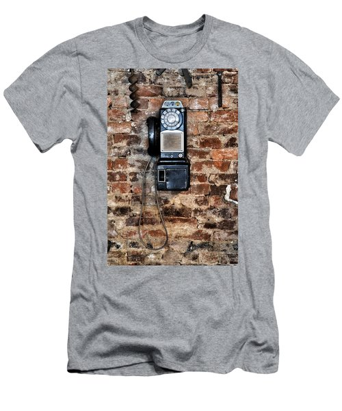 Pay Phone  Men's T-Shirt (Athletic Fit)